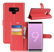 GSMWise Samsung Galaxy Note 9 Hoesje - Wallet Case - Rood