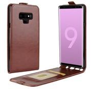 GSMWise Samsung Galaxy Note 9 Hoesje - Flip Case - Bruin