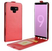 GSMWise Samsung Galaxy Note 9 Hoesje - Flip Case - Rood