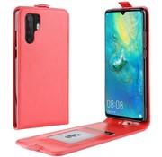 GSMWise Huawei P30 Pro Hoesje - Flip Case - Rood
