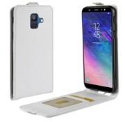 GSMWise Samsung Galaxy A6 (2018) Hoesje - Flip Case - Wit
