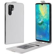 GSMWise Huawei P30 Pro Hoesje - Flip Case - Wit