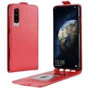 GSMWise Huawei P30 Hoesje - Flip Case - Rood