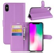 GSMWise Apple iPhone XR Hoesje - Wallet Case - Paars