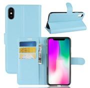 GSMWise Apple iPhone XR Hoesje - Wallet Case - Blauw