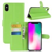GSMWise Apple iPhone XR Hoesje - Wallet Case - Groen