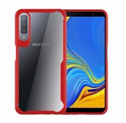 GSMWise Samsung Galaxy A7 (2018) Hoesje - Drop Proof Back Case - Rood
