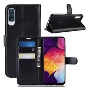GSMWise Samsung Galaxy A50 Hoesje - Wallet Case - Zwart