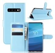 GSMWise Samsung Galaxy S10 Hoesje - Wallet Case - Blauw