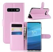 GSMWise Samsung Galaxy S10 Hoesje - Wallet Case - Roze