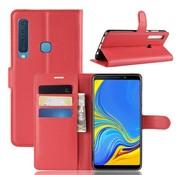 GSMWise Samsung Galaxy A9 (2018) Hoesje - Wallet Case - Rood
