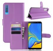 GSMWise Samsung Galaxy A7 (2018) Hoesje - Wallet Case - Paars