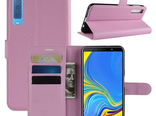 GSMWise Samsung Galaxy A7 (2018) Hoesje - Wallet Case - Roze