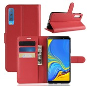 GSMWise Samsung Galaxy A7 (2018) Hoesje - Wallet Case - Rood