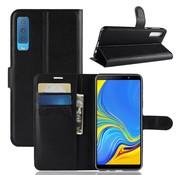 GSMWise Samsung Galaxy A7 (2018) Hoesje - Wallet Case - Zwart