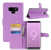 GSMWise Samsung Galaxy Note 9 Hoesje - Wallet Case - Paars