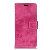 GSMWise Huawei P Smart (2018) Hoesje - Vintage Wallet Case met Kaarthouder - Roze