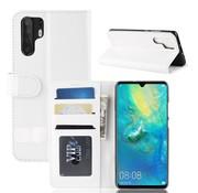GSMWise Huawei P30 Pro Hoesje - PU Lederen Wallet Case - Wit