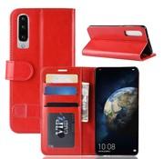 GSMWise Huawei P30 Hoesje - PU Lederen Wallet Case - Rood