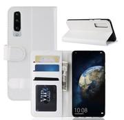 GSMWise Huawei P30 Hoesje - PU Lederen Wallet Case - Wit