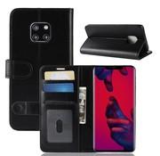 GSMWise Huawei Mate 20 Pro Hoesje - PU Lederen Wallet Case - Zwart