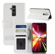 GSMWise Huawei Mate 20 Lite Hoesje - PU Lederen Wallet Case - Wit