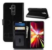 GSMWise Huawei Mate 20 Lite Hoesje - PU Lederen Wallet Case - Zwart