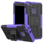 GSMWise Huawei P10 Lite Hoesje - Hybride Back Cover met standaard - Paars