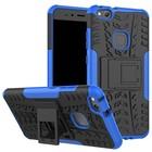 GSMWise Huawei P10 Lite Hoesje - Hybride Back Cover met standaard - Blauw