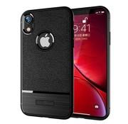 GSMWise Apple iPhone XR Hoesje - Geborsteld Flexibele TPU Back Case - Zwart