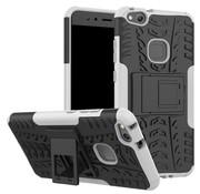 GSMWise Huawei P10 Lite Hoesje - Hybride Back Cover met standaard - Wit