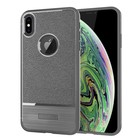 GSMWise Apple iPhone XS Max Hoesje - Geborsteld Flexibele TPU Back Case - Grijs