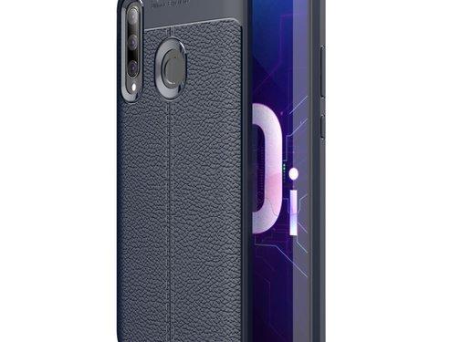 GSMWise Huawei P Smart Plus (2019) Hoesje - Zachte TPU Back Case - Blauw