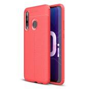 GSMWise Huawei P Smart Plus (2019) Hoesje - Zachte TPU Back Case - Rood