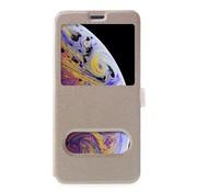 GSMWise Apple iPhone XR Hoesje - Window View Book Case - Goud