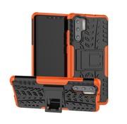 GSMWise Huawei P30 Pro Hoesje - Hybride Back Cover met standaard - Oranje
