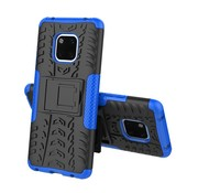 GSMWise Huawei Mate 20 Pro Hoesje - Hybride Back Cover met standaard - Blauw