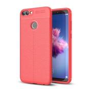 GSMWise Huawei P Smart (2018) Hoesje - Zachte TPU Back Case - Rood