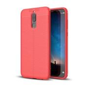 GSMWise Huawei Mate 10 Lite Hoesje - Zachte TPU Back Case - Rood