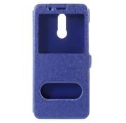 GSMWise Huawei Mate 10 Lite Hoesje - Window View Book Case - Blauw