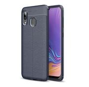 GSMWise Samsung Galaxy A40 Hoesje - Zachte TPU Back Case - Blauw