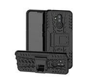 GSMWise Huawei Mate 20 Lite Hoesje - Hybride Back Cover met standaard - Zwart