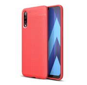 GSMWise Samsung Galaxy A50 Hoesje - Zachte TPU Back Case - Rood