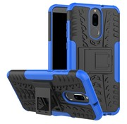 GSMWise Huawei Mate 10 Lite Hoesje - Hybride Back Cover met standaard - Blauw
