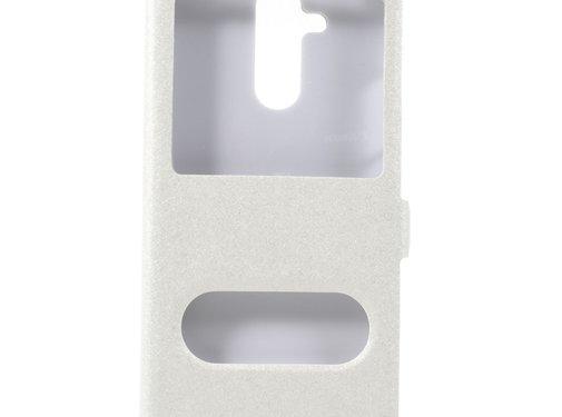 GSMWise Huawei Mate 20 Lite Hoesje - Window View Book Case - Wit