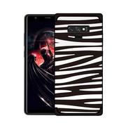 GSMWise Samsung Galaxy Note 9 Hoesje - Zachte TPU Backcase Zebra strepen - Zwart Wit