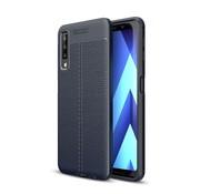 GSMWise Samsung Galaxy A7 (2018) Hoesje - Zachte TPU Back Case - Blauw