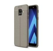 GSMWise Samsung Galaxy A6 (2018) Hoesje - Zachte TPU Back Case - Grijs