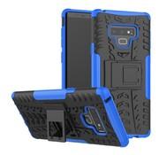 GSMWise Samsung Galaxy Note 9 Hoesje - Hybride Back Cover met standaard - Blauw