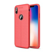 GSMWise Apple iPhone XS Max Hoesje - Zachte TPU Back Case - Rood